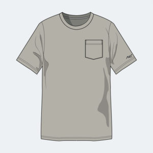Short Sleeve Pocket Tee - FR Apparel from Axe Work Wear
