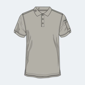 Short Sleeve Polo - FR Apparel from Axe Work Wear